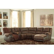 Nantahala - Coffee 6 Piece Sectional