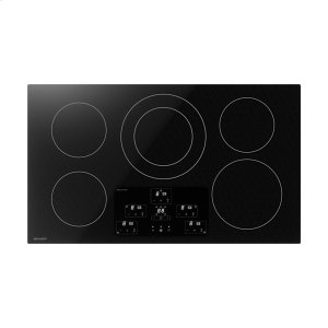 36 in. Width Induction Cooktop, European Black Mirror Finish Made with Premium SCHOTT® Glass -