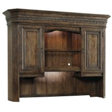 Home Office Rhapsody Computer Credenza Hutch