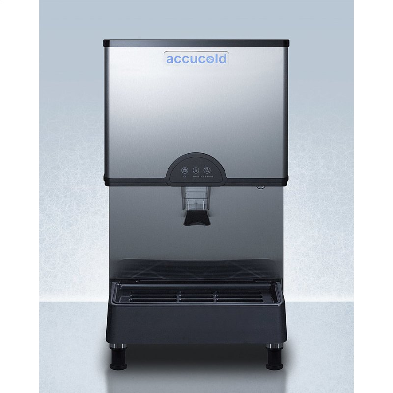 Commercially Listed Countertop Ice and Water Dispenser With 282 Lb. Ice Production Capacity, Filter Kit Included