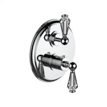 """7095ec-tm - 1/2"""" Thermostatic Trim With Volume Control in Polished Chrome"""