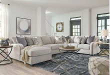 Sectional - Dellara - Chalk 3 Piece