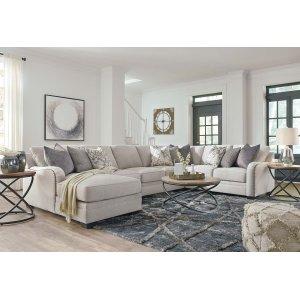 Ashley Furniture Dellara - Chalk 3 Piece Sectional