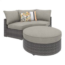 Spring Dew - Gray 2 Piece Patio Set