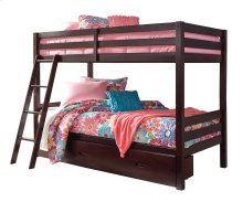 Halanton - Dark Brown 2 Piece Bedroom Set