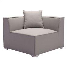 Fiji Corner Chair Gray