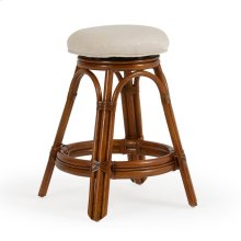 Backless Swivel Counter Stool