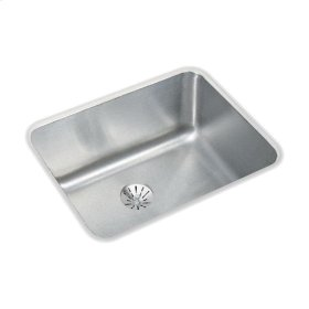 """Elkay Lustertone Classic Stainless Steel, 20-1/2"""" x 16-1/2"""" x 7-7/8"""", Single Bowl Undermount Sink with Perfect Drain"""