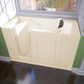 Luxury Series 28x48 Walk-in Tub  Left Drain  American Standard - Linen