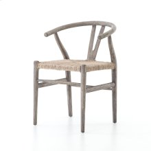 Weathered Grey Teak Finish Muestra Dining Chair