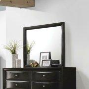Briana Black Dresser Mirror Product Image