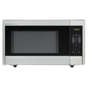 Sharp Appliances1.1 cu. ft. 1000W Sharp Stainless Steel Carousel Countertop Microwave Oven (R-331ZS)