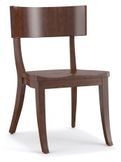 Dining Room Scoop Wood Klismos Chair