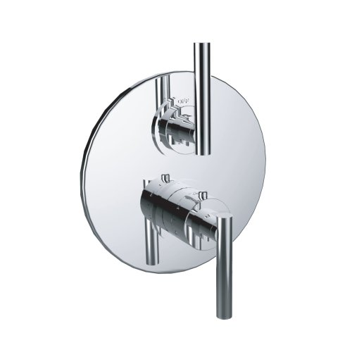 """7097tj-tm - 1/2"""" Thermostatic Trim With Volume Control and 2-way Diverter in Wrought Iron"""