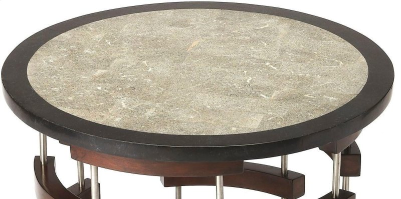 This Enchanting Round Modern Coffee Table Is Destined To Be A Bright Spot In Any Living