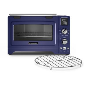 "KitchenAid12"" Convection Digital Countertop Oven Cobalt Blue"