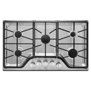 36-inch Wide Gas Cooktop with DuraGuard Protective Finish -