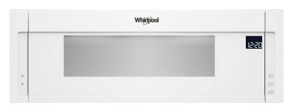 Whirlpool1.1 Cu. Ft. Low Profile Microwave Hood Combination
