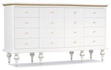 Bedroom Mystique Nine-Drawer Dresser