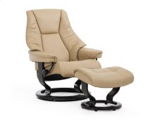 Stressless Live Large Classic Base Chair and Ottoman