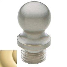 Non-Lacquered Brass Ball Finial