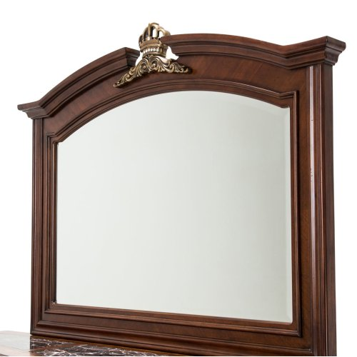 Sideboard W/mirror Royal Sienna