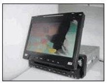"""7.2"""" TFT Motorized In-Dash Monitor with DVD and Tuner"""