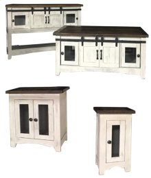 Lagos 2-Door End Table