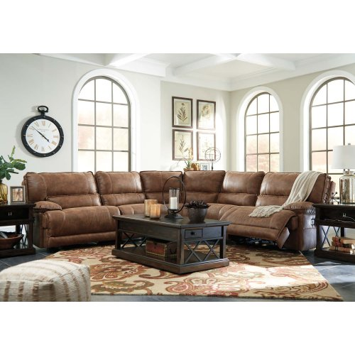 5 Pc Power Reclining Sectional