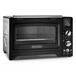 "KitchenAid12"" Convection Digital Countertop Oven Onyx Black"