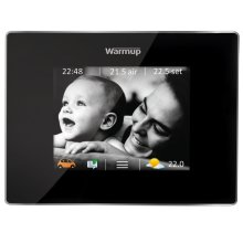 4IE WIFI enabled thermostat with touch-screen and energy monitoring