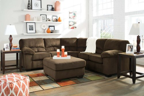LAF Loveseat with Half Wedge