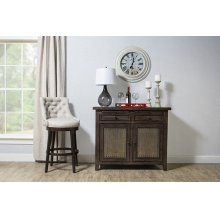 Tuscan Retreat® Buffet With Old Iron - Mocha