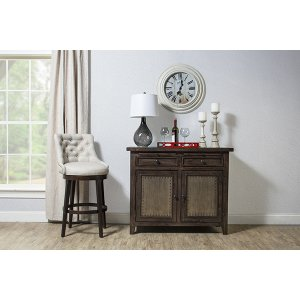 Hillsdale FurnitureTuscan Retreat(r) Buffet With Old Iron - Mocha