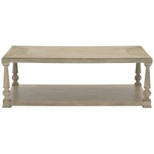Santa Barbara Rectangular Cocktail Table in Sandstone (385)