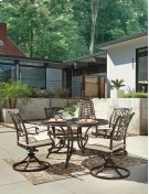 Burnella - Brown 3 Piece Patio Set Product Image