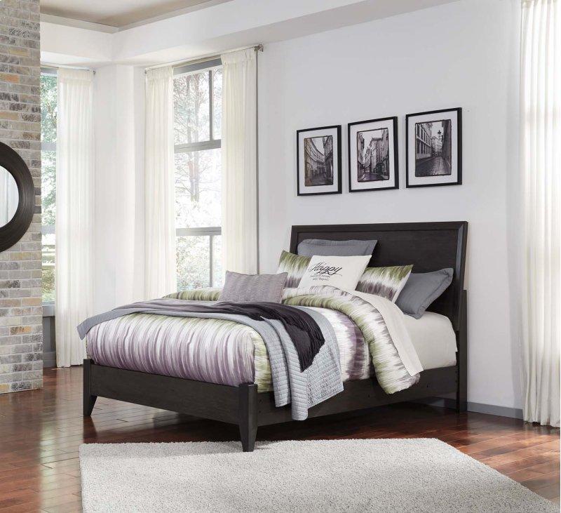 Daltori Black 2 Piece Bed Set Queen