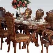 KIT- DOUBLE PED. DINING TABLE