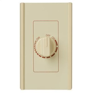 BroanElectronic Variable Speed Control, Ivory, 6 amp., 120V