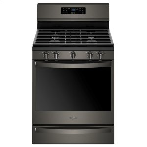 5.8 cu. ft. Freestanding Gas Range with Frozen Bake Technology - FINGERPRINT RESISTANT BLACK STAINLESS