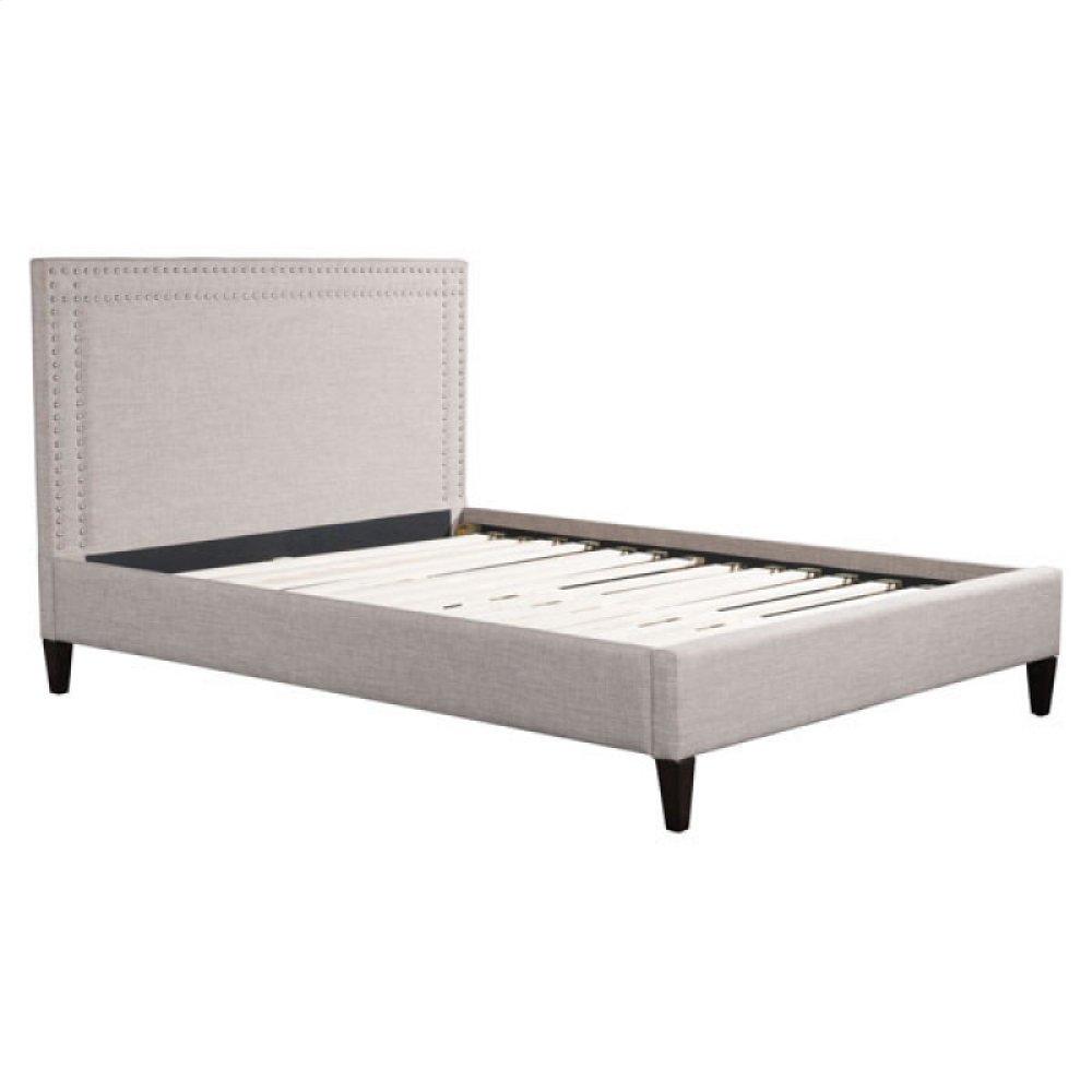 Renaissance Queen Bed Dove Gray