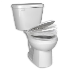 Complete HET Elongated Toilet - 1.28 gpf - White