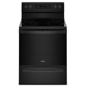 Whirlpool5.3 Cu. Ft. Freestanding Electric Range With Adjustable Self-Cleaning Black