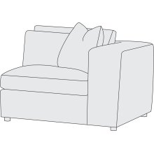 Como Right Arm Chair