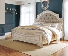Realyn - Chipped White 3 Piece Bed Set (King)