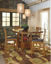 Ralene - Medium Brown Counter Height Dining Set Product Image