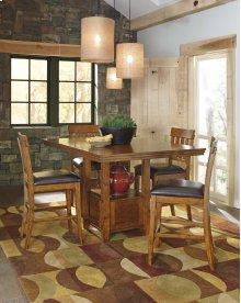 Ralene - Medium Brown Counter Height Dining Set