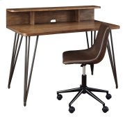 Home Office Desk and Hutch Product Image