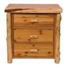 Cedar Three Drawer Chest - Traditional Cedar - Premium Line Product Image