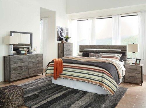 Cazenfeld - Black/Gray 2 Piece Bedroom Set